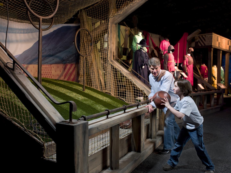 Il sera possible de jouer au Quidditch lors de l'exposition