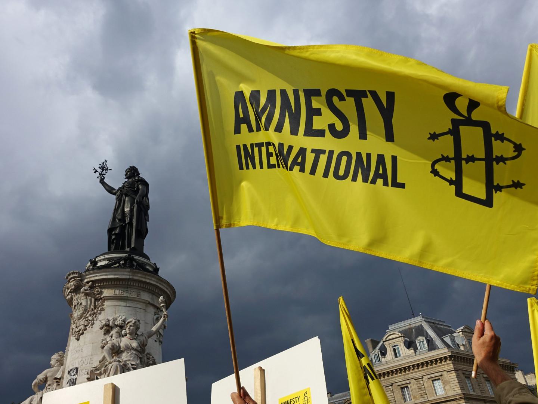 """L'ONG Amnesty International soutient le mouvement """"Pas en notre nom"""""""