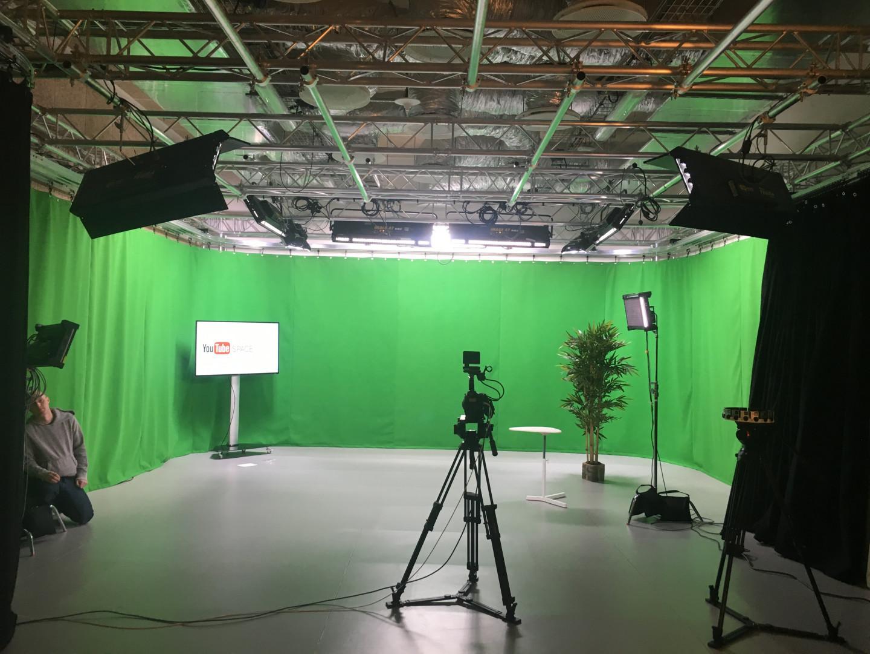 La salle de tournage met à disposition des créateurs les technologies les plus modernes