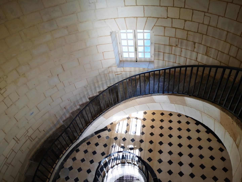L'escalier du phare de Cordouan
