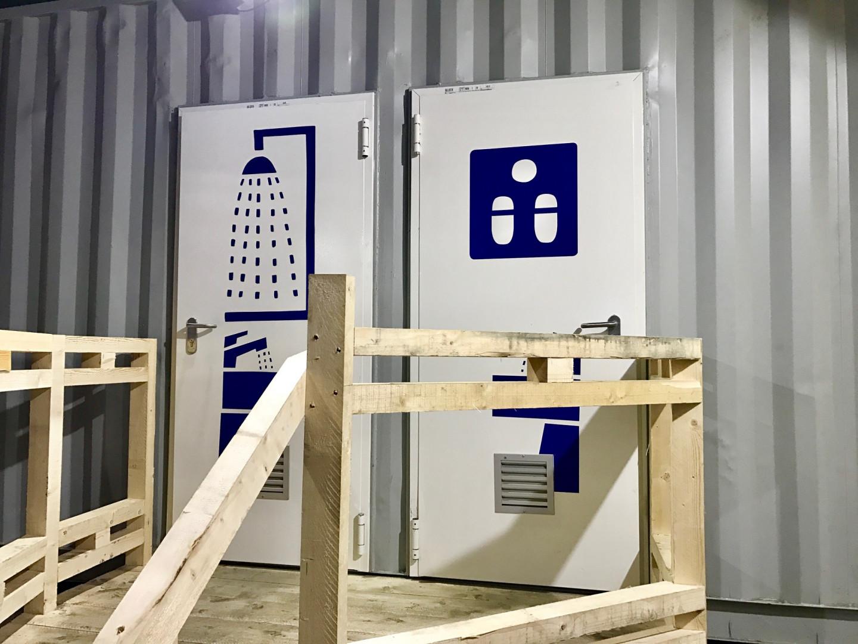 Un important dispositif sanitaire est prévu et des kit d'hygiène sont à disposition des migrants.