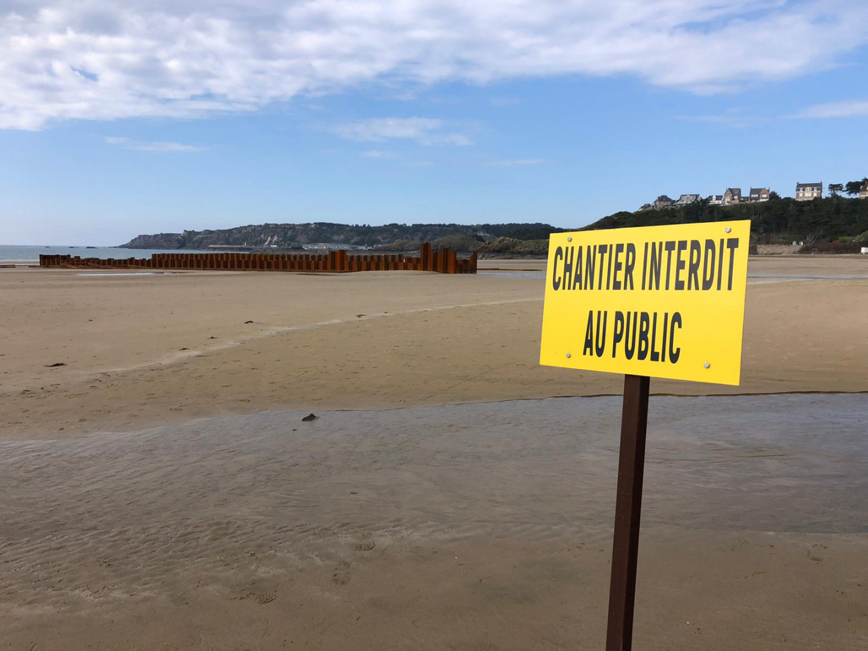 Le chantier du parc éolien à Erquy présente un risque pour la biodiversité marine, selon ses opposants