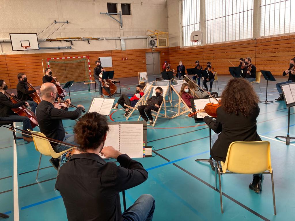 Face à l'annulation de tous leurs concerts, l'orchestre Victor Hugo a trouvé une solution