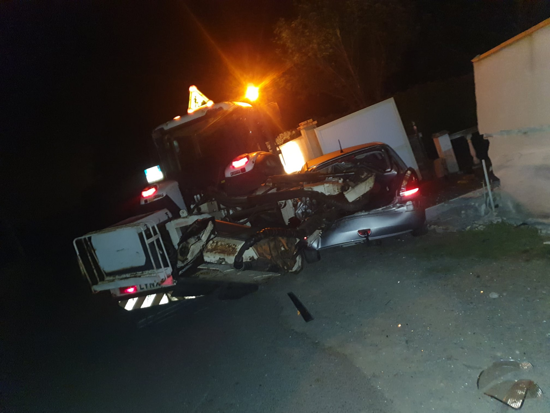 Accident de tracteur