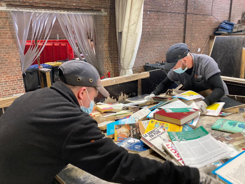 Les pionniers du recyclage de déchets papier à Wambrechies dans l'entreprise Élise