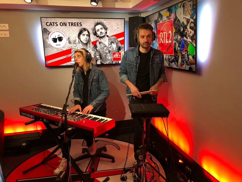 Cats On Tree dans les studios de RTL2