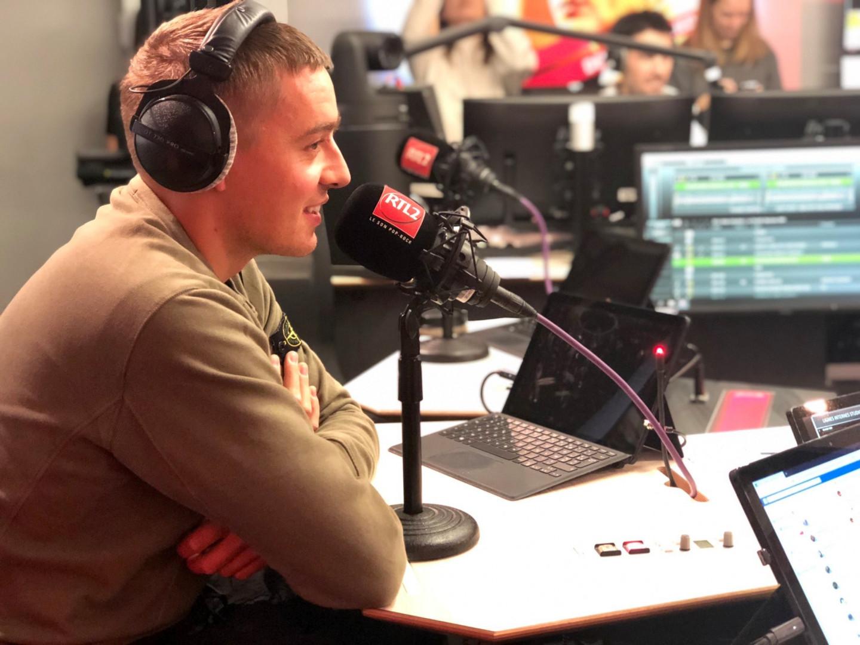 Dermot Kennedy en live et en interview dans Le Double Expresso RTL2