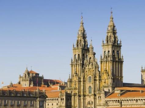 La cathédrale de Saint-Jacques de Compostelle, au bout de tous les chemins...
