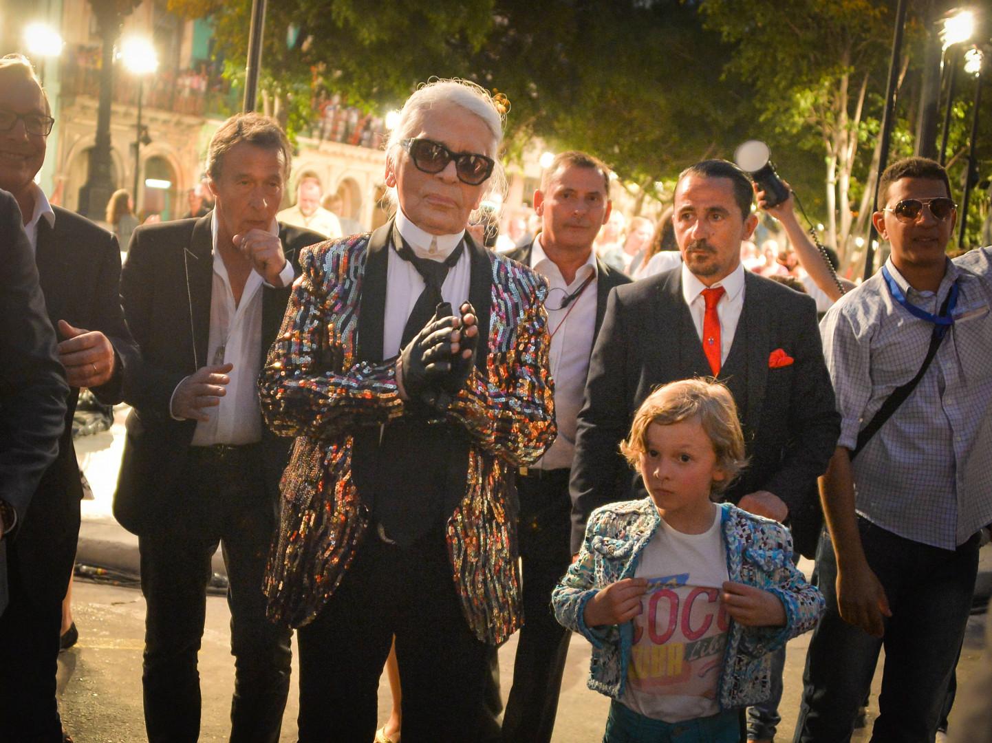 Le défilé a eu lieu sur la promenade du Prado