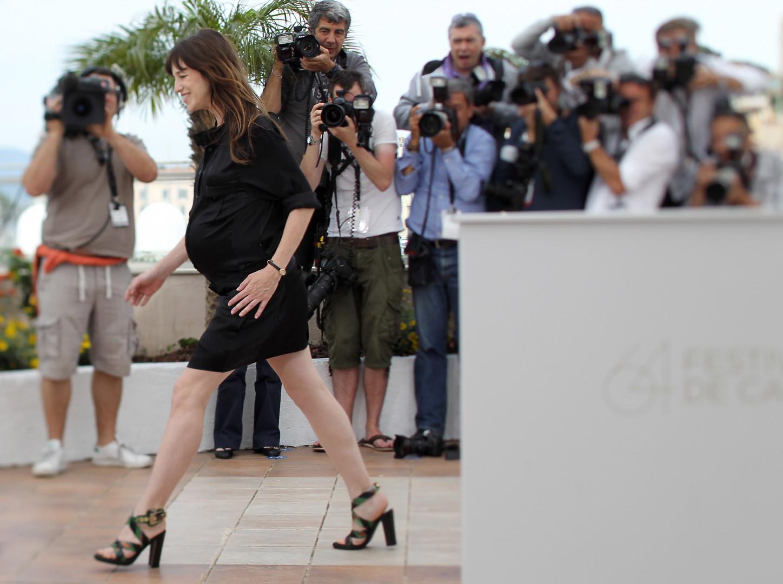 A 40 ans, Charlotte Gainsbourg enceinte de son troisième enfant