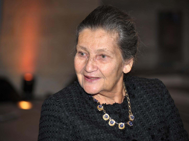 Simone Veil, le 1er décembre 2010