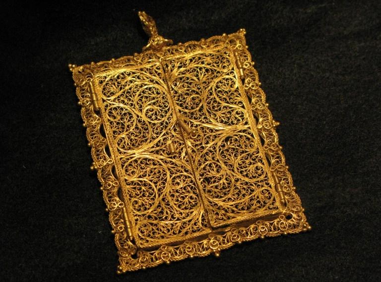 Un cadre en or a également été vendu aux enchères de New York le 5 août.