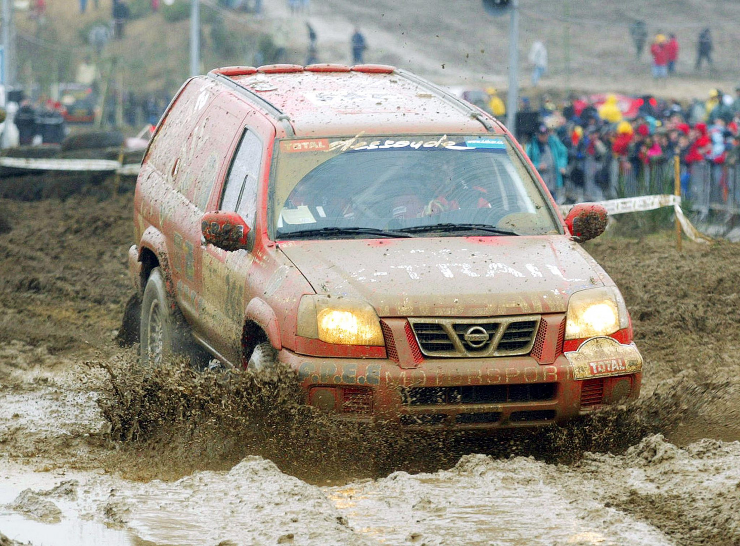 29 décembre 2001 : premières sensations fortes à La Souterraine, lors de la 2e étape