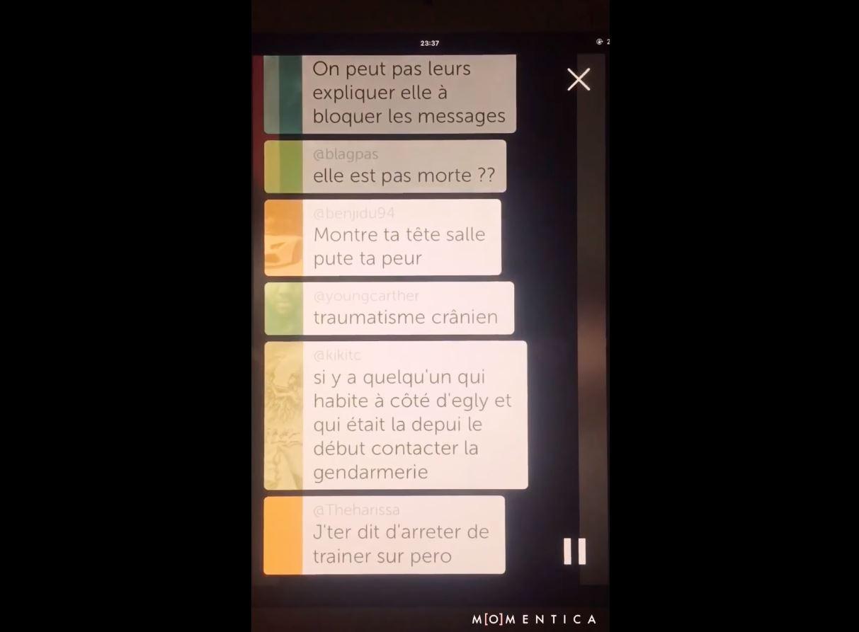 Image de la vidéo de la jeune fille qui s'est suicidée sur Periscope