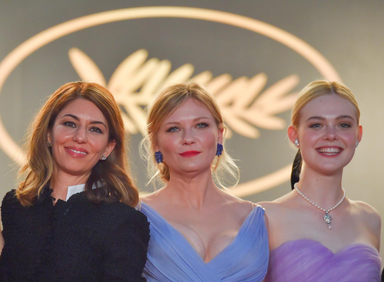 Sofia Coppola, Kirsten Dunst et Elle Fanning à Cannes le 24 mai 2017