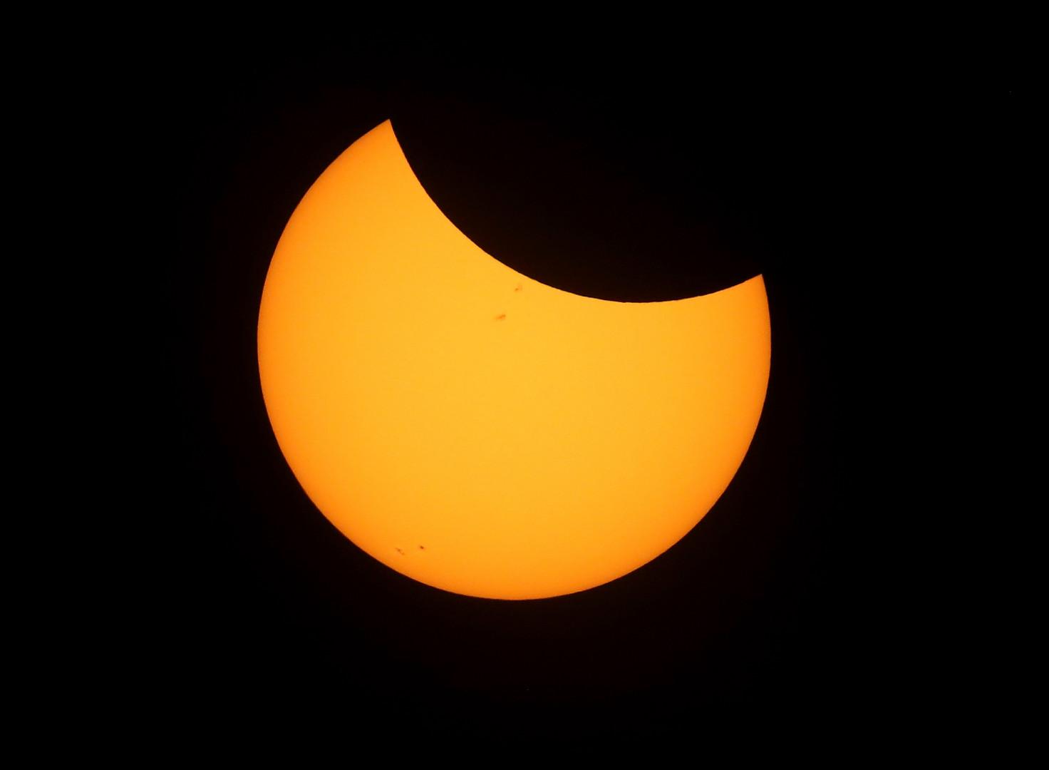 La dernière éclipse totale de Soleil visible aux États-Unis a eu lieu en juin 1918.