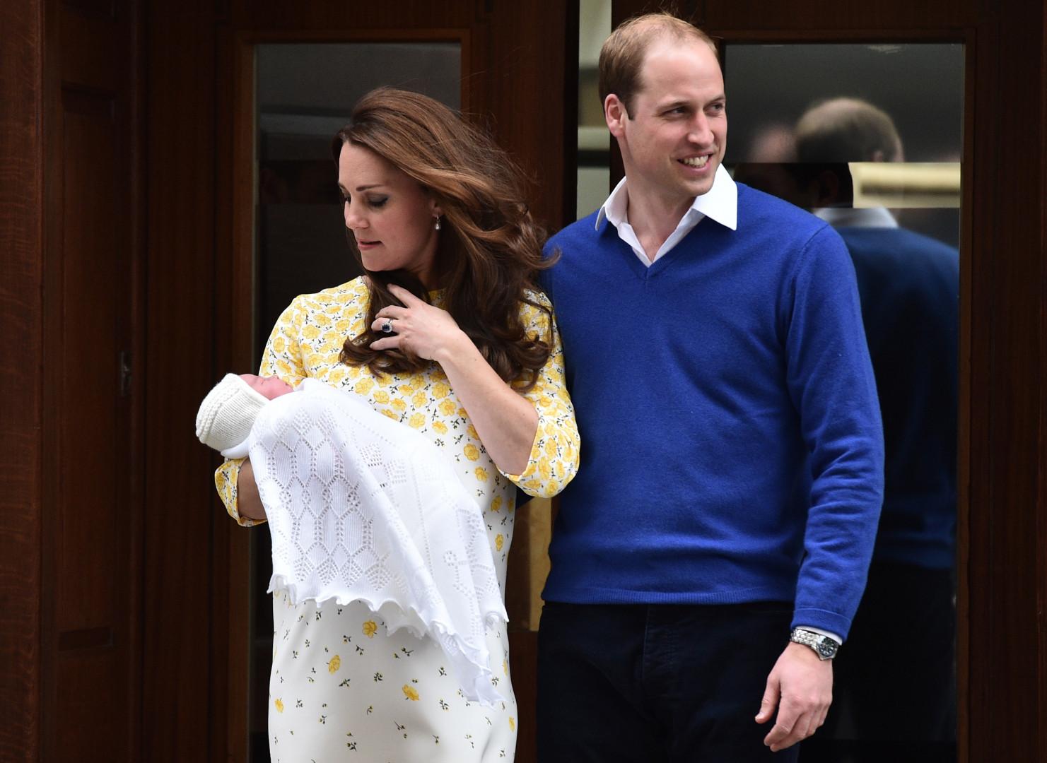La princesse Charlotte présentée officiellement le 2 mai à la presse et au peuple