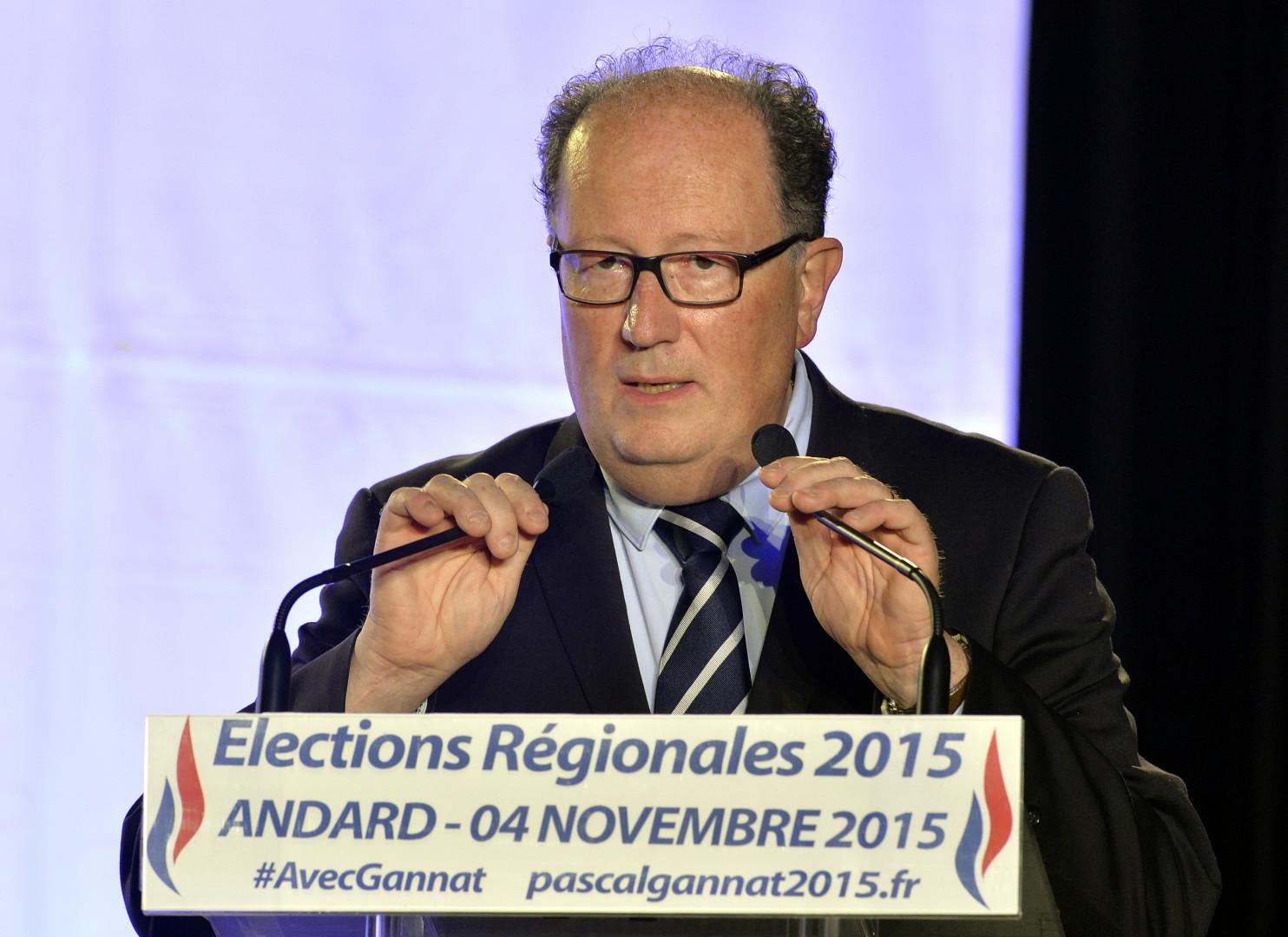 Pascal Gannat est tête de liste FN aux élections régionales 2015 dans les Pays de la Loire.