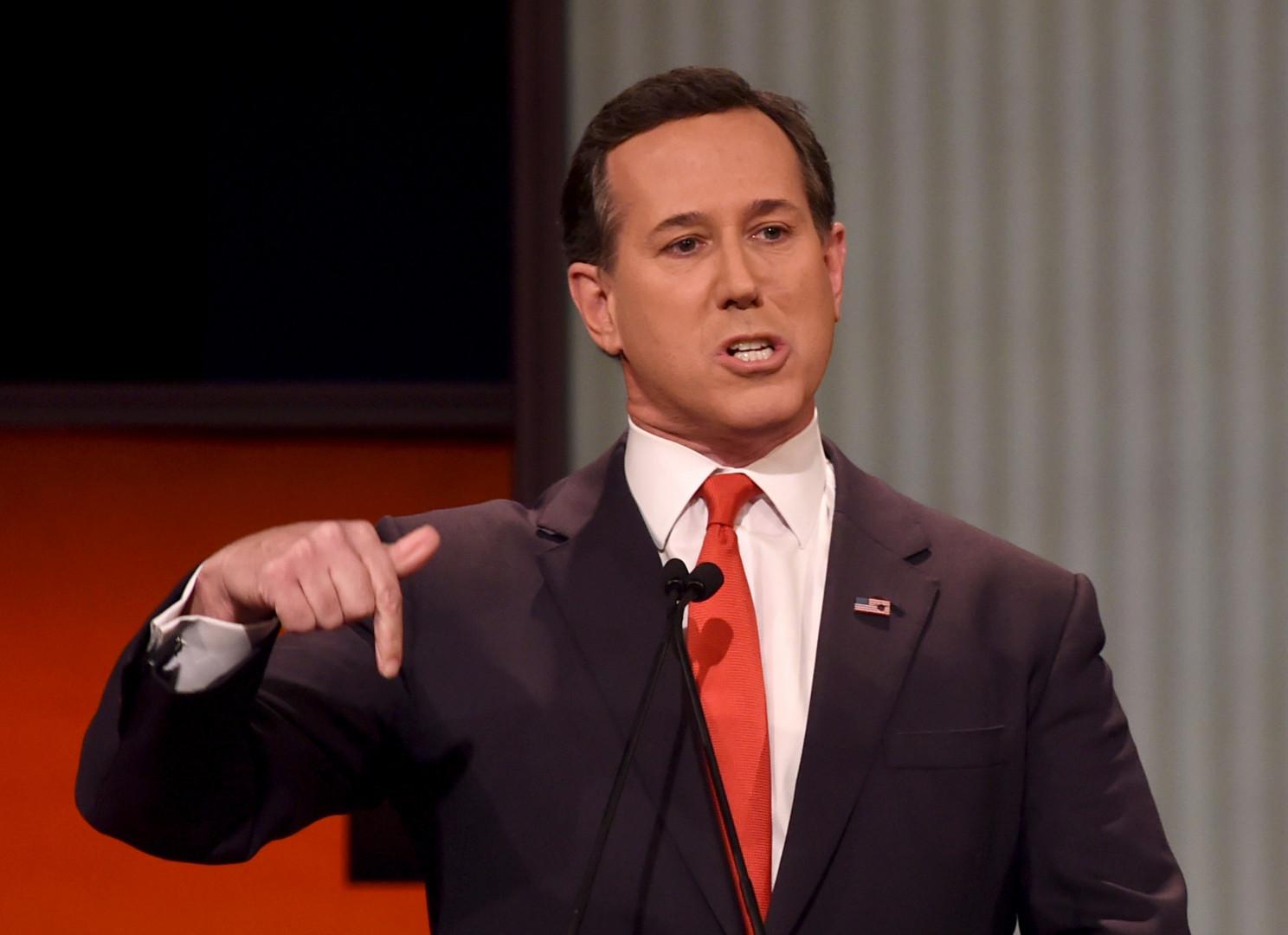 Rick Santorum était candidat à la primaire républicaine