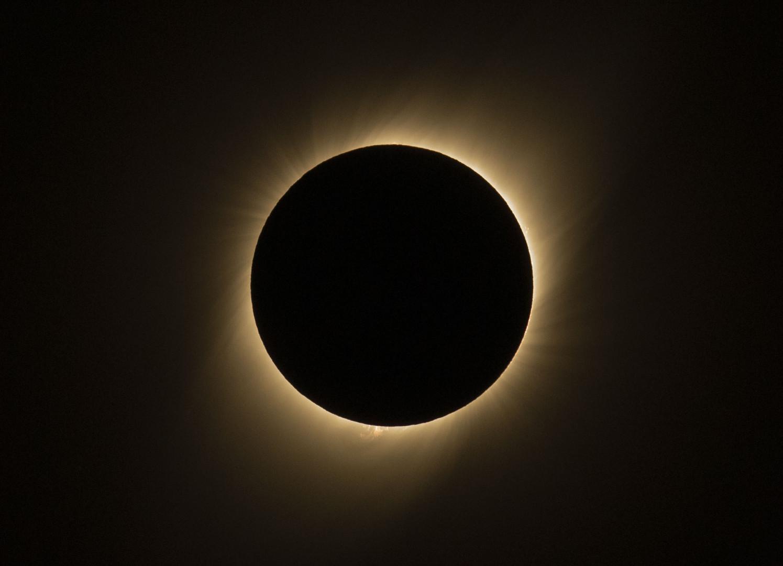 Éclipse totale du Soleil au-dessus du Chili le mardi 2 juillet 2019