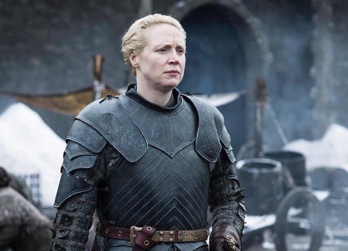 Brienne de Torh devra redoubler d'efforts pour protéger les sœurs Stark des zombies des glaces