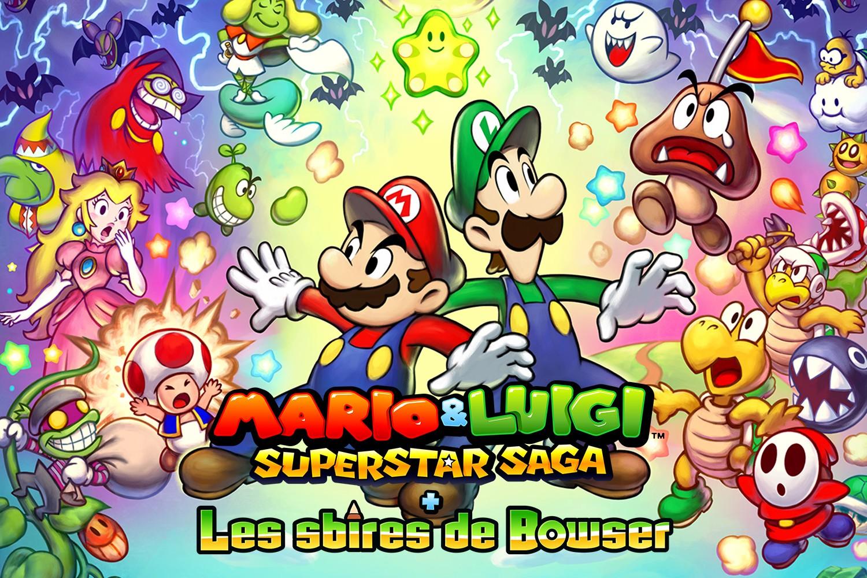 """""""Mario & Luigi : Superstar Saga + Les sbires de Bowser"""" fera la joie des possesseurs de 3DS (30€)"""