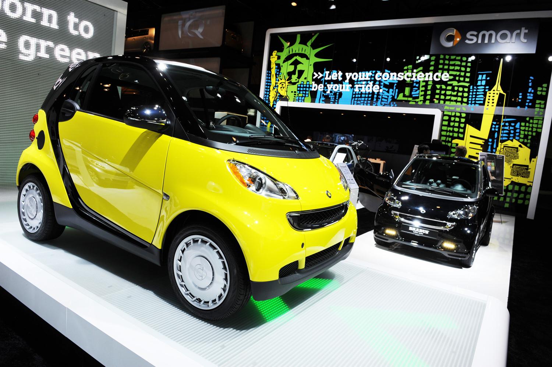 3. La Smart Fortwo, troisième voiture la plus volée en France en 2018