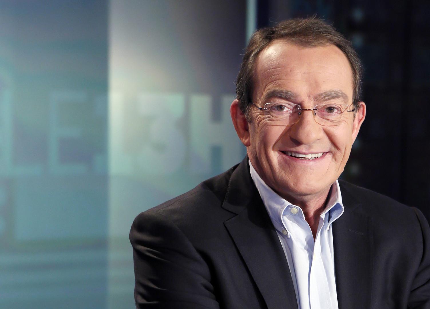 Le présentateur du 13h de TF1 Jean-Pierre Pernaut le 13 février 2013.