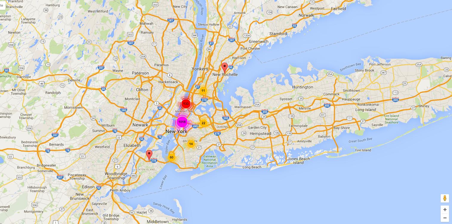 Un New-Yorkais lance une application pour localiser les sans-abris