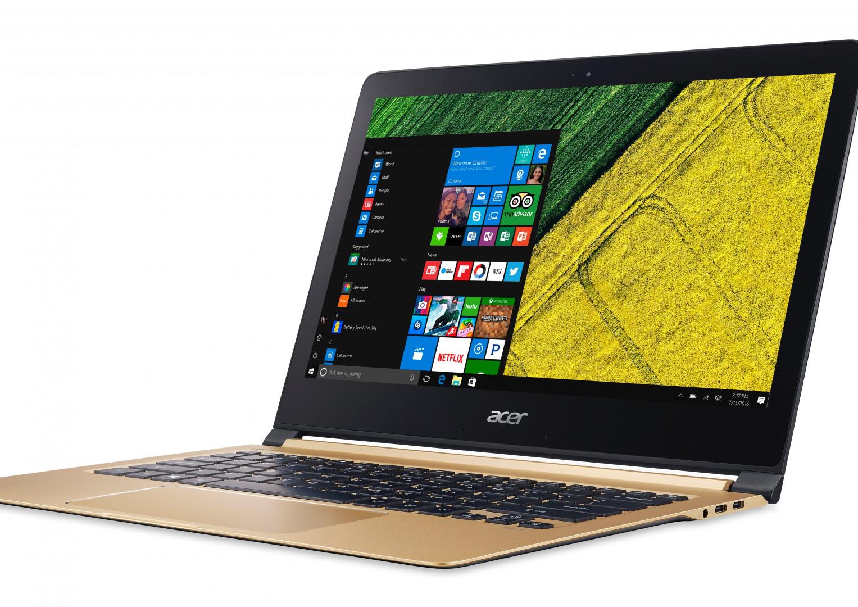 Acer a présenté l'ordinateur portable le plus fin du monde à l'IFA