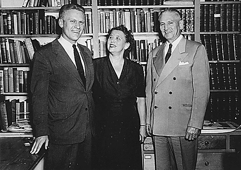 Gerald R. Ford, Jr. et ses parents