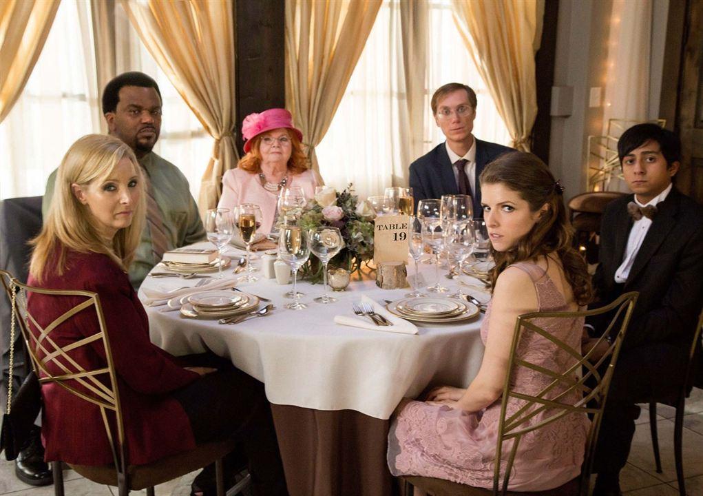 """On a aussi vu l'actrice dans le film """"Table 19"""""""