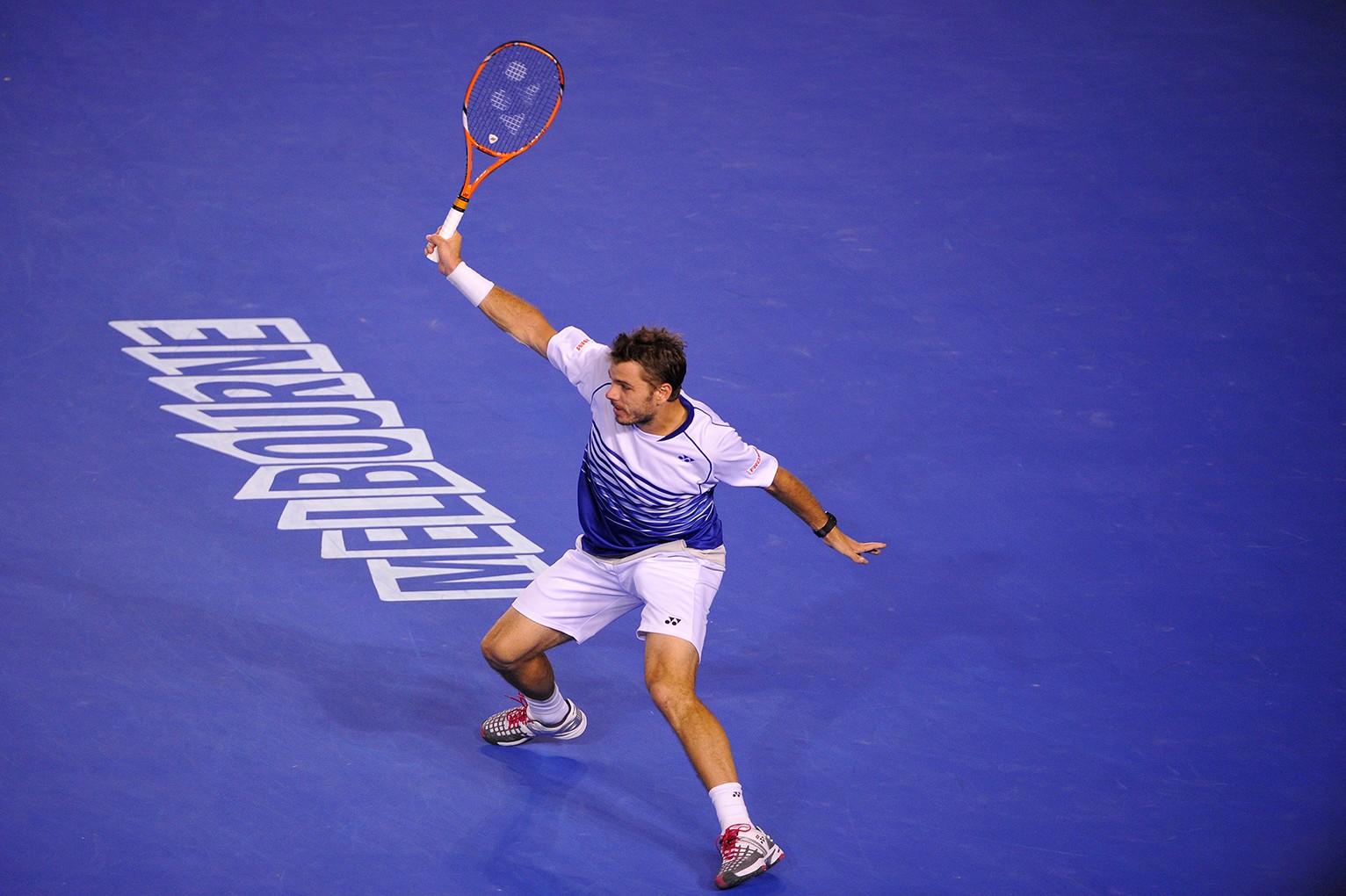 Stanislas Wawrinka avait remporté l'édition 2014 de l'Open d'Australie