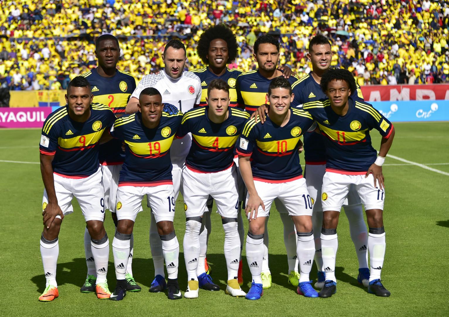 Coupe du Monde 2018 : la Colombie est dans le groupe H