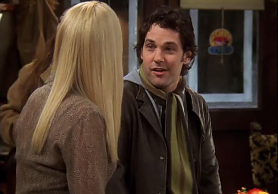 Paul Rudd a joué le petit-ami de Phoebe durant les dernières saisons
