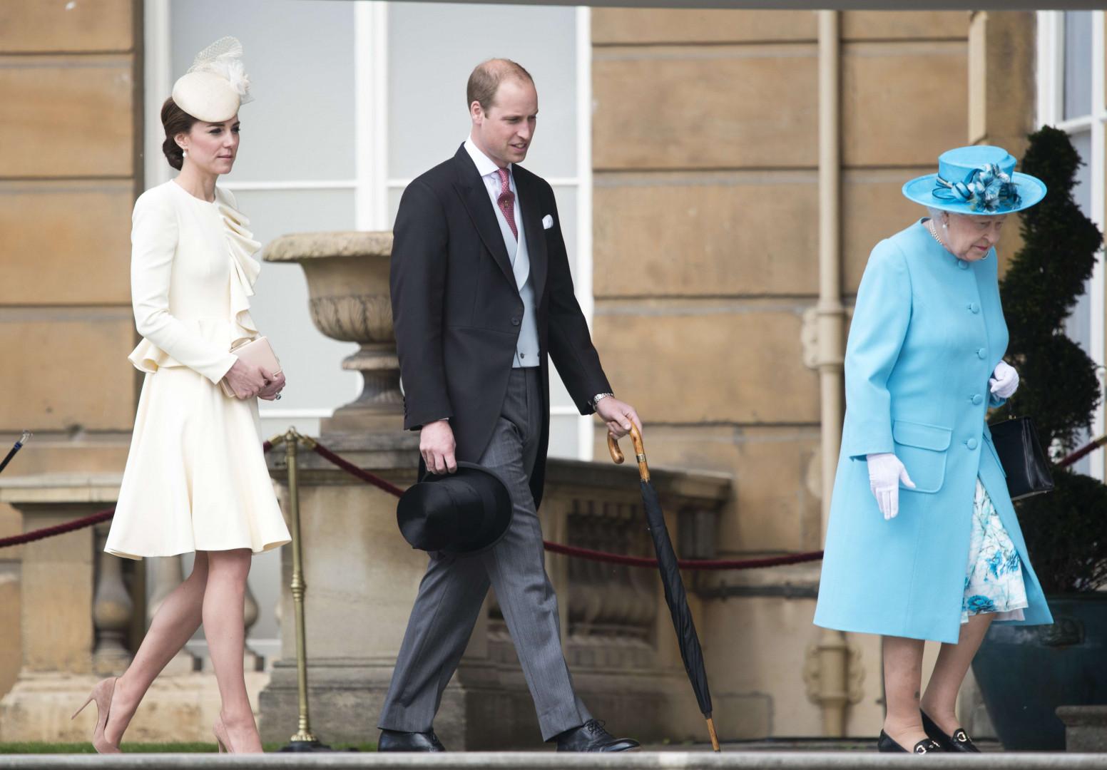 La famille royale en toute élégance