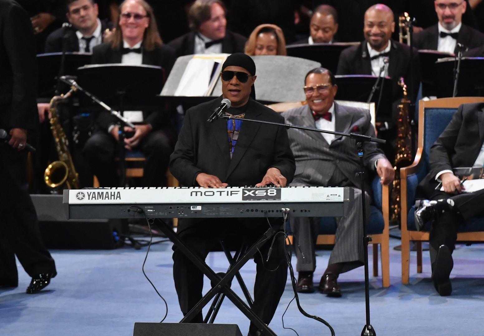 Stevie Wonder a également rendu hommage à la chanteuse de légende