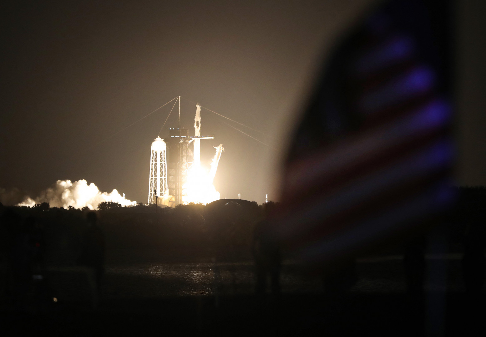 Avec le succès en mai 2020 de son premier vol test habité, SpaceX a brisé le monopole russe des envols vers l'ISS.