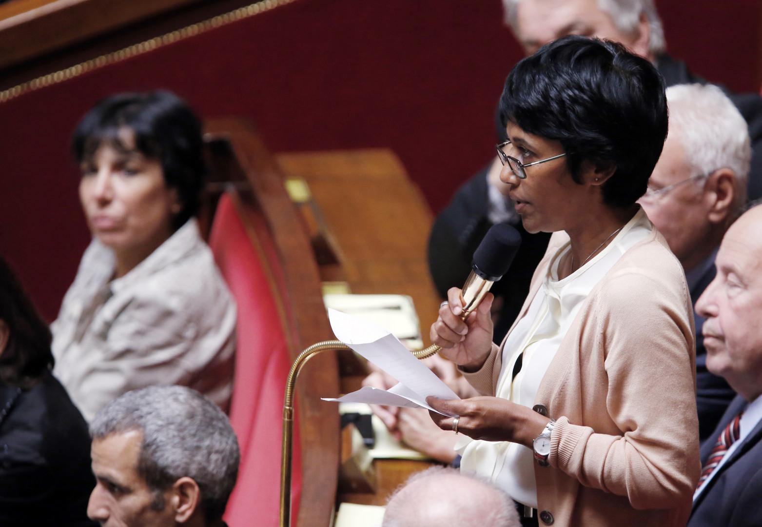 Ericka Bareigts, secrétaire d'État auprès du Premier ministre, chargée de l'Égalité réelle.