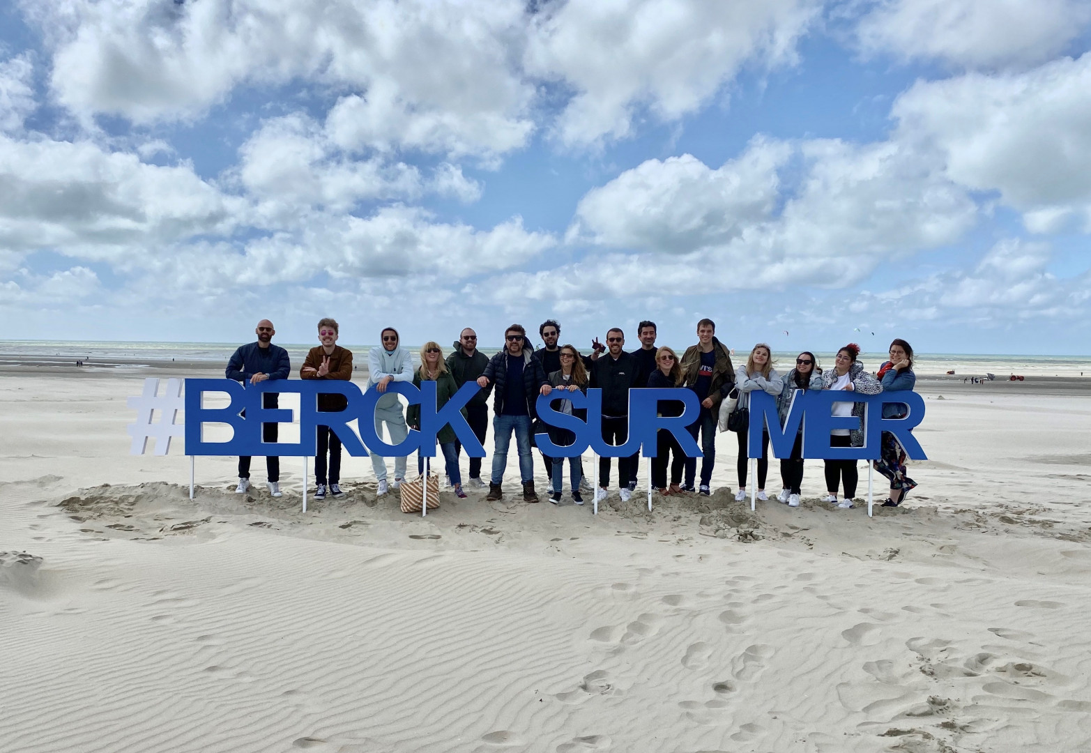 L'équipe de Bruno dans la radio réunie à Berck-sur-Mer