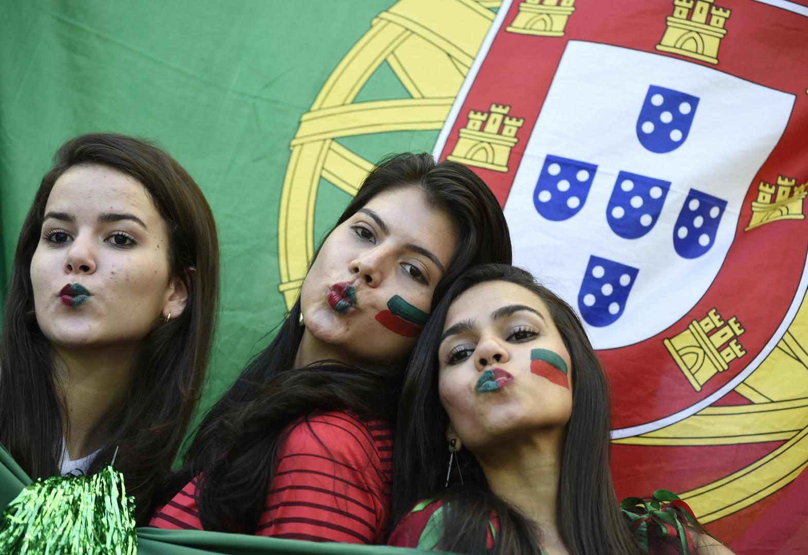 Des supportrices portugaises le 16 juin 2014