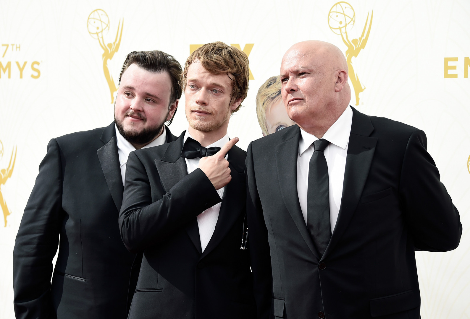 "John Bradley-West, Alfie Allen et Conleth Hill (""Game of Thrones"")"