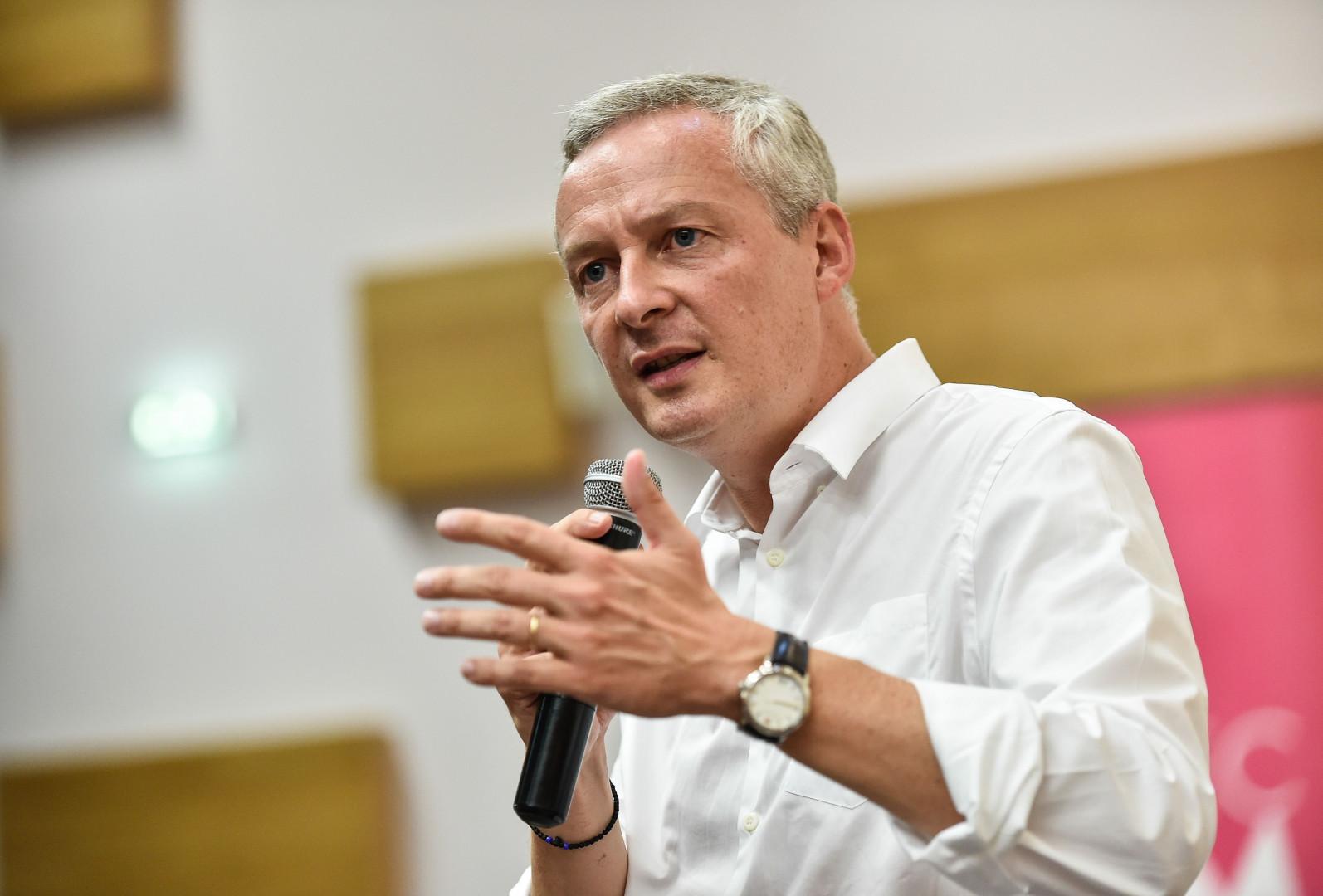 Bruno Le Maire nommé ministre de l'Économie le 17 mai 2017