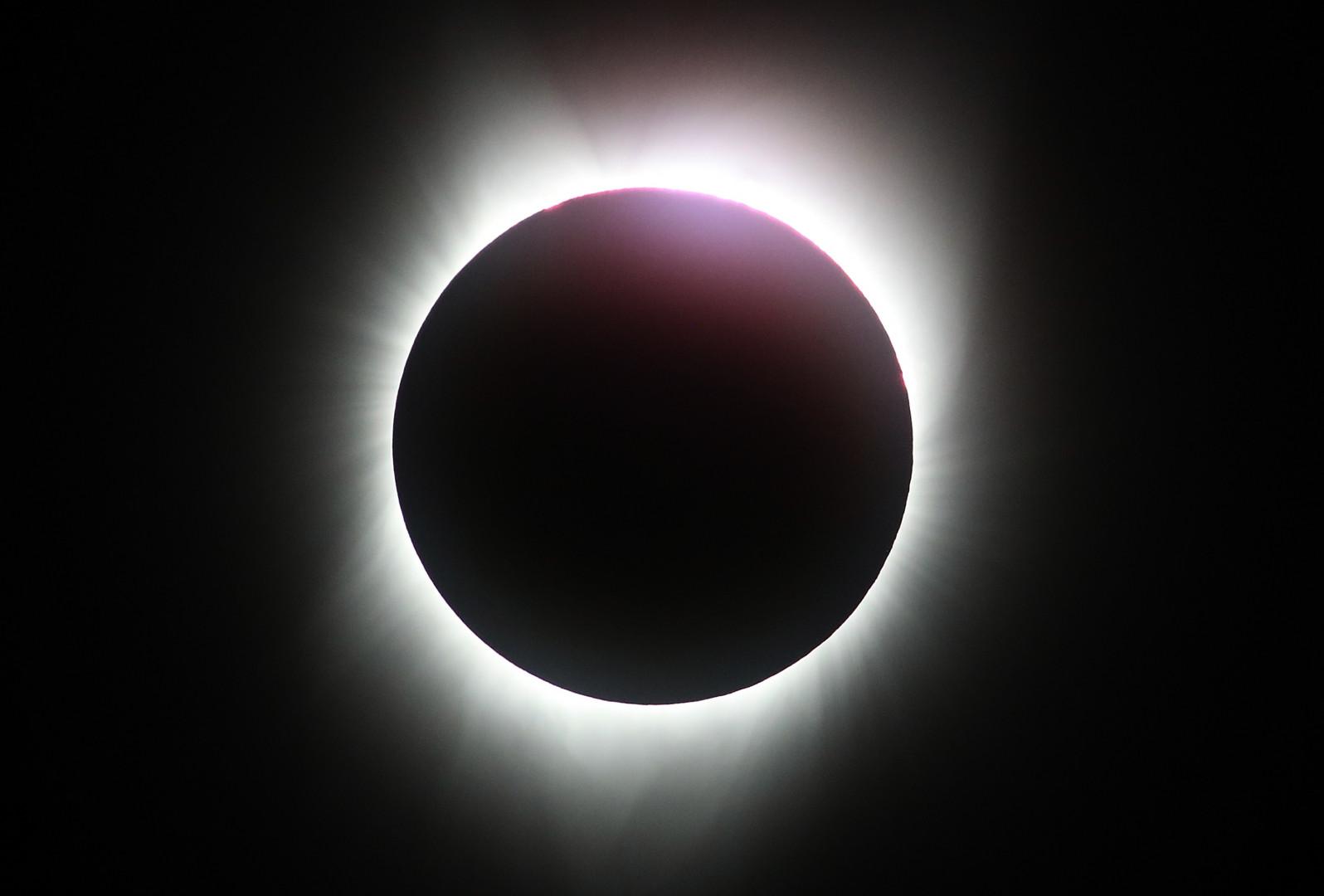 L'éclipse solaire s'est déroulée de 19h à 21h (heure de Paris) sur le continent américain.