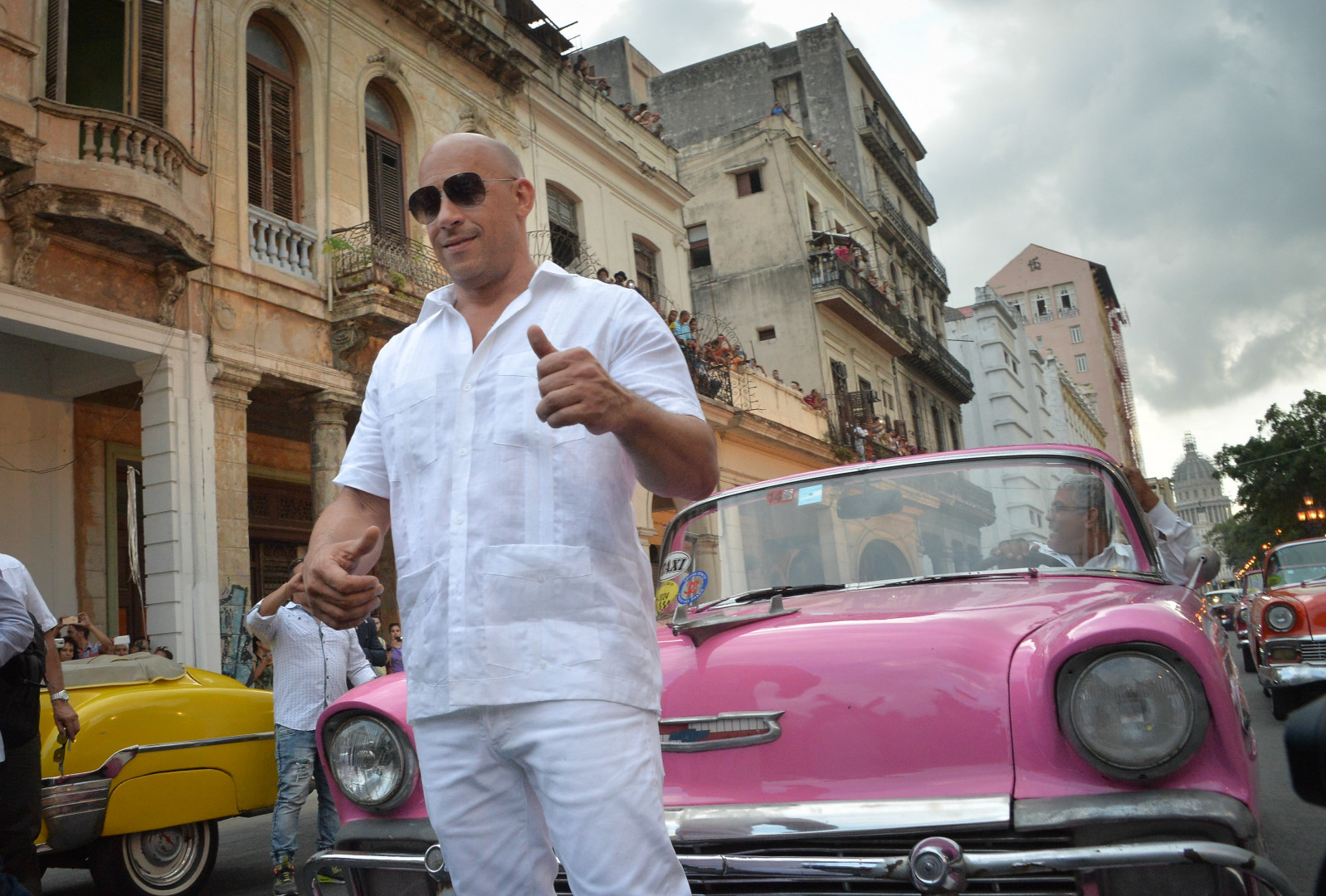 L'acteur Vin Diesel avait fait le déplacement