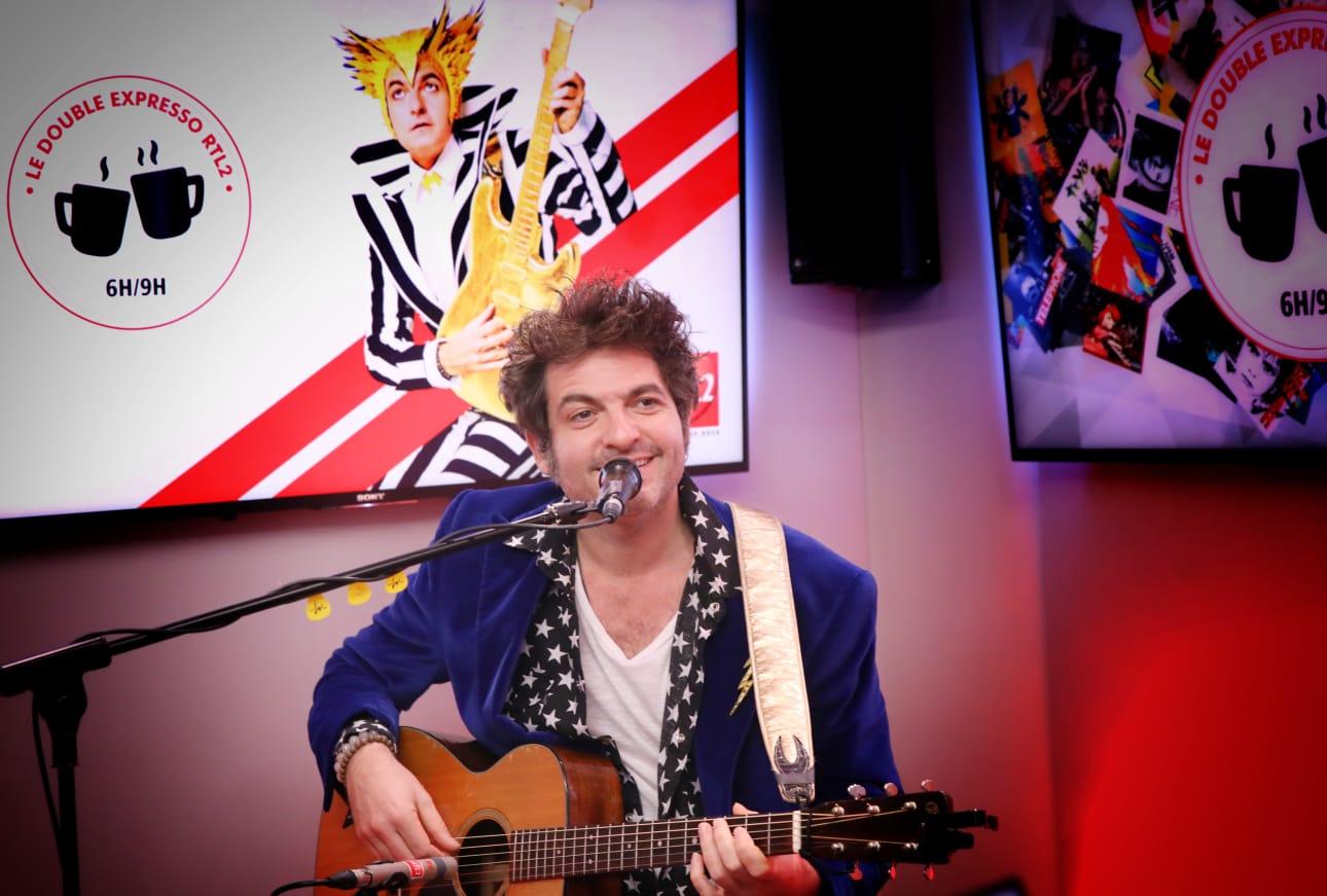 -M- dans les studios de RTL2