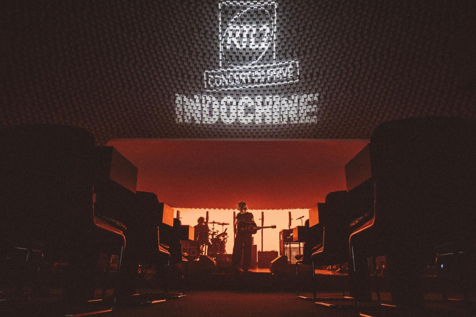Indochine a donné un concert d'1h30
