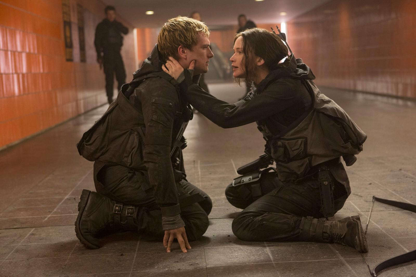 Katniss a des sentiments aussi bien pour Gale et Peeta