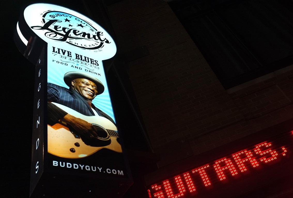La route du blues : The Legends and Mr Buddy Guy