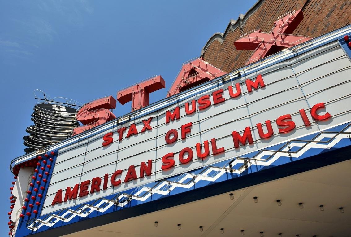 La route du blues : Le Stax, un temple de la musique noire américaine.